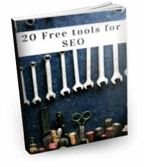 20 free tools SEO Ebook