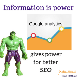 Google Analytics tool for SEO